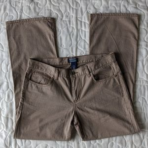 Polo Jean Co by RL size 12x30 tan denim pants